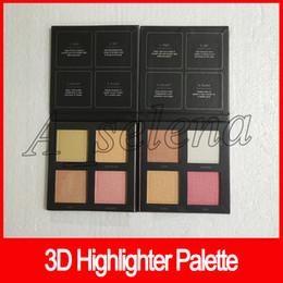 Pink eye Powder online shopping - 2018 Makeup D Highlighter Palette colors Highlighter Bronzers Palette Powder golden sands and pink sands Eye Shadow