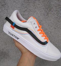 78d1c4f61fe Custom skate online shopping - New Old Skool Custom Canvas Casual Shoes Men  Women Skateboard X