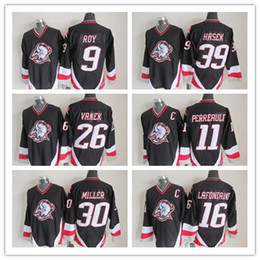 Men s Buffalo Sabres Ice Hockey Jerseys 9 Evander Kane11 Gilbert Perreault 16  Pat LaFontaine 26 Thomas Vanek 30 Ryan Miller 39 Dominik Hasek d9b2dcc06