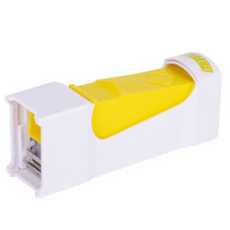 butter tool NZ - Fashion Butter Cutter Cheese Slicer Stocked 1pcs One Click Butter Cheese Cutter Slices Slicer Squeeze Serves Stores Kitchen Tool