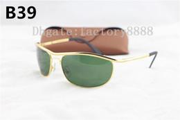 3843e5dbeaa 1pcs Best Quality Famous Brand Olympia Sunglasses Gold Metal Frame Glass  Lens 62MM Women s Eyewear UV400 Sun Glasses 8012 With Box