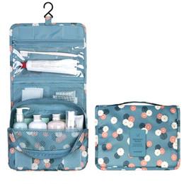 8f3de29c54 Hang Up Storage Bag Australia - Hanging Travel Cosmetic Bag Women Zipper  Make Up Bag Polyester