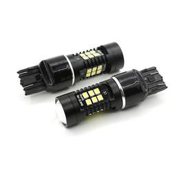 24v 1156 light bulb online shopping - 7440 LED Fog Bulbs SMD LEDs Canbus Error Car DRL Daytime Running Light Driving Lamps White K V V DC
