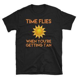 $enCountryForm.capitalKeyWord Canada - T Shirt Making Time Files When You'Re Getting Tan Men'S O-Neck Short Funny T Shirt