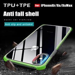 Großhandel Für iphone xs max iphone xr stoßfest transparentes gehäuse weiches gel tpu telefon case klar rückseitige abdeckung für s10 s10plus s10lite mit paket