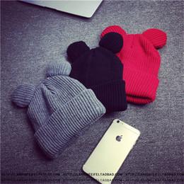 $enCountryForm.capitalKeyWord NZ - female Winter Caps Hats For Women Devil Horns Ear Cute Crochet Braided Knit Beanies Hat Warm Cap Hat