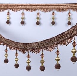$enCountryForm.capitalKeyWord UK - Type-6 12Meter Rhinestone Bead Pendant Hanging Lace Trim Ribbon For Window curtains wedding Party Decorate Apparel Sewing DIY