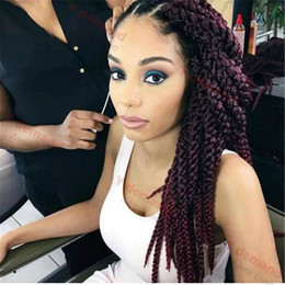 havana mambo twist crochet braids NZ - Y demand 3D Cubic Twist Crochet Braids Afri Naptural TM Split Synthetic Ombre Havana Mambo Senegalese Freetress Twist Hair Extensions