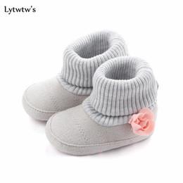 $enCountryForm.capitalKeyWord NZ - 1 Pair Lytwtw's Winter Warm Kawaii Cute Flower Baby Kids Shoes Snow Boots Girls Toddlers Newborn Children Fashion