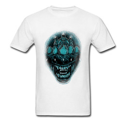 f688349db8a Low Price T Shirts Men Big Mouth Skull 3d Print T Shirt Deep Space Terror Good  Quality Fashion Clothes Biker T Shirts For Men