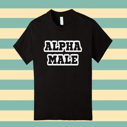 Custom Print T Shirt Cheap Australia - Custom T Shirts Cheap O-Neck Graphic Short Sleeve Alpha Male Ready To Succeed T Shirt T Shirts For Men