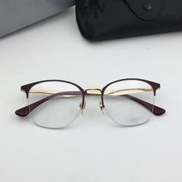 d45ff1a1a37 6422 glasses frame clear lens designer glasses frame Simple and stylish  style design men women brand eyeglasses frame with case 51-19-140