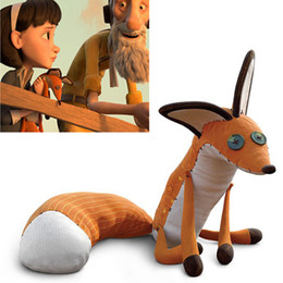 stuffed animals fox NZ - The Little Prince Fox Plush Dolls 40cm le Petit Prince stuffed animal plush education toys for baby kids Birthday Xmas Gift
