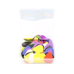 China 100Pcs Colorful Mixed Anti-Skid Electric Acoustic Guitar Plectrum Picks 1mm supplier acoustic guitar plectrum suppliers