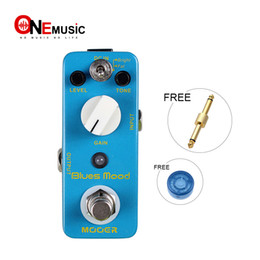 metal effect pedal Australia - Mooer Blues Mood Blues Drive Guitar Effect Pedal Wide Range Frequency Response Blues Style Overdrive Sound Also on Bass Full Metal Shell Tru