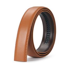 $enCountryForm.capitalKeyWord NZ - 110cm-130cm Lon for Men Genuine Cowhide Belt Body Without Automatic Buckle Mens Strap Fashion Simple Leather Belts KZM013