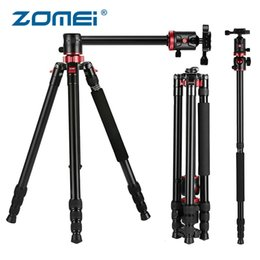Monopod For Dslr Camera NZ - ZOMEI M8 Camera Tripod Monopod with Rotatable Center Column 360 Ball Head Panoramic Shooting for Nikon Canon DSLR Cameras Video