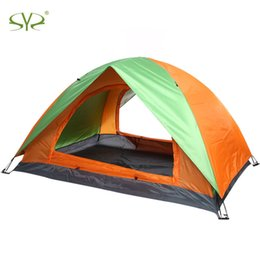 Need Fiber Australia - 2Persons Outdoor Camping Tent Brand Double Layers Camping Tent Uv Protection Water Resistant Outdoor Hiking Tent Four Season