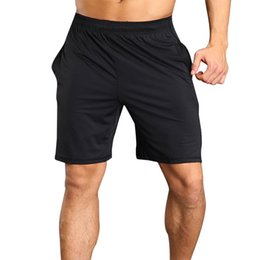 Wear Compression Shorts Australia - Vertvie Solid Shorts Men Breathable Quick Dry Male Shorts For Running Fitness Summer Beach Wear Compression Trousers New