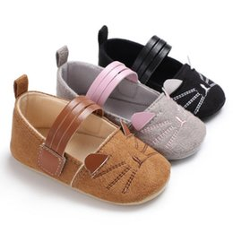 $enCountryForm.capitalKeyWord Australia - Baby Anti-Slip Soft Sole Cotton Shoes Toddler Girl Newborn Moccasin Sandals Cute