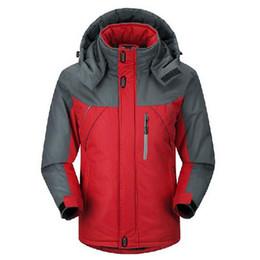 Army Boys Jacket UK - 2018 Men Women Winter Inner Fleece Waterproof Jackets  Outdoor Sports Brand 9a226513e1