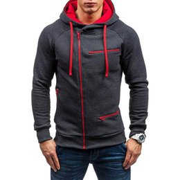 $enCountryForm.capitalKeyWord NZ - M-3XL 2018 New Men Hoodies Fashion Fleece Warm Drawstring Hooded Sweatshirt Casual Male Zipper Slim Fit Hoodie Pullover Moletom