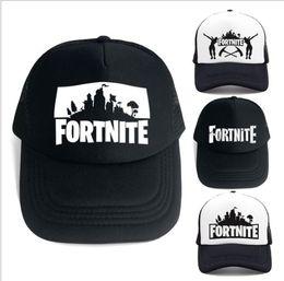 e5c9f29191b 14 design Fortnite Hats Trucker Cap Fortnite Fans Cool Caps Baseball Net  hip hop hat for big kids adult caps Fortnite Hats KKA5547