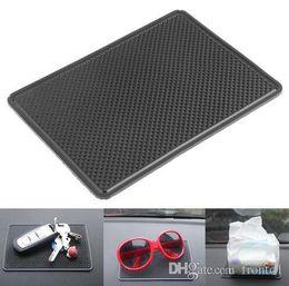 Автомобиль Силиконовый анти - скольжения мат приборной панели мобильный телефон MP3 GPS солнцезащитные очки держатель кронштейн нескользящей липкие Pad стайлинга автомобилей