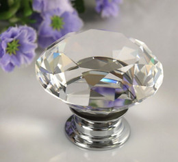 $enCountryForm.capitalKeyWord NZ - 40mm Diamond Crystal Drawer Pulls Knobs Glass Alloy Door Drawer Cabinet Wardrobe Pull Kitchen Cabinet Handle Knobs