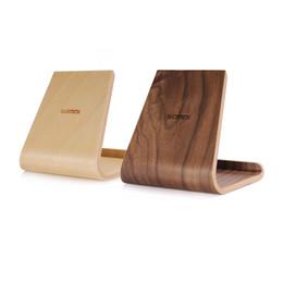 $enCountryForm.capitalKeyWord UK - SAMDI Portable Birch Wooden Phone Tablet Stand Holder Dock Station Cradle for iPhone10 8 7 Plus iPad mini 4