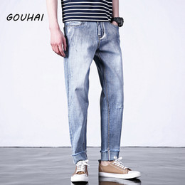 $enCountryForm.capitalKeyWord Canada - Solid Casual Jeans Men Fashion Brand Hip Hop Pants For Weight Loss Biker Jeans Men Denim Overalls Joggers Plus Size S-6XL
