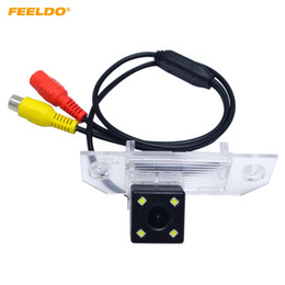 Discount ford backup camera - FEELDO Special Car Rearview Camera With LED Light for FORD FOCUS SEDAN Hatchback C-MAX Backup Camera #4030