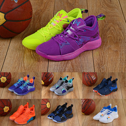 55ad7770eaa2 2018 What the PG 2 EP Duck PlayStation Lights UP All Stars Orange Basketball  Shoes Mens Paul George II PG2 2s Designer Sports Sneakers 7-12