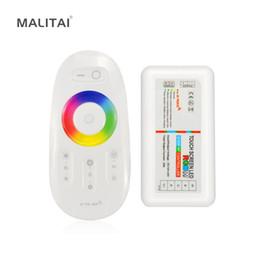 Wireless Touch Rgb Controller Australia - 2.4G RF WIreless Touch Screen Remote LED Controller Dimmers DC 12V-24V 18A Control For RGB RGBW RGBWW RGBCW LED Strip light Tape