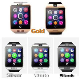 $enCountryForm.capitalKeyWord Australia - Q18 smart watch watches bluetooth DZ09 smartwatch Wristwatch with Camera TF SIM Card Slot   Pedometer   Anti-lost   for smart phone SB-Q18