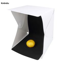 Camera & Photo Efficient Kebidu Folding Led Light Soft Box Lightbox Pography Studio Softbox For Iphone Samsang Htc Dslr Camera Po Background Consumer Electronics