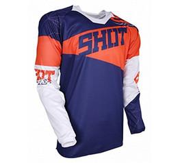 2018 Man New Red Blue orange Moto GP Mountain Bike Motocross Jersey BMX DH  Long MTB Racing T Shirt Clothes Sportswear DownhillK bf04c25c1