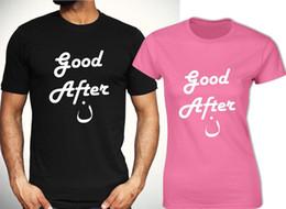 Buon pomeriggio T-shirt Funny Arabic Inspired Tee Uomo Donna Fashion Top Unisex in Offerta