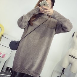 fa44c2d3f96 Women s Clothing Sweater For Women Tops Sweaters For Winter 2018 Long  Oversized Pullover Korean Style Long Sleev Jumper 049