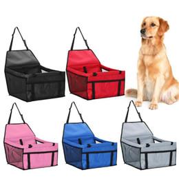 Pet Dog Carrier Pad Safe Carry House Cat Puppy Bag Seggiolino auto per cani Impermeabile Seggiolone per cani Cestino Prodotti per animali domestici