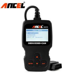Chevy Wholesale Australia - 5pcs lot AD310 OBD OBD2 Scanner Automotive Clear Error Code Reader support Portuguese Spanish Russian Better Than ELM327