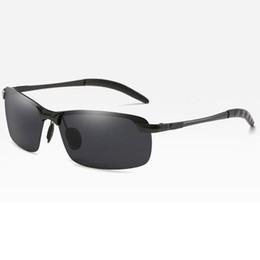 $enCountryForm.capitalKeyWord Australia - Outdoor Sunglasses men frameless glasses is popular Polarized Sports Men Coating Mirror Driving Sun Glasses Male Eyewear Fashion Accessorie
