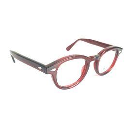 32dc66c67f Rx eyeglasses fRames online shopping - Vintage Full Rim Red Transparent Eyeglass  Frames Myopia Rx able