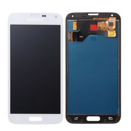 s5 screen assembly 2019 - High Quality LCD Display For Samsung Galaxy S5 G900 SM-G900F I9600 Touch Screen Assembly Digitizer Replacement Parts