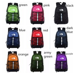 Casual College baCkpaCks online shopping - The North F Backpacks Unisex Casual Backpack Travel Outdoors Sports Bags Students School Bag Colors Large Capacity Knapsack
