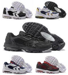 couple shoes sale NZ - Hot Sale 96 Air More Money 96 QS Sneaker Men's Couples Running Shoes Trainers Sport Footwear Women's Athletic Sneakers Size