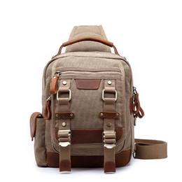 c149faa1b1 elegant school bags 2018 - Retro canvas Bag Elegant Travel Luggage Bag on  Back Male Multi