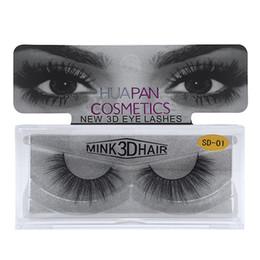 sexy false eyelashes 2019 - 3D Mink Eyelashes Eyelashes Messy Eye lash Extension Sexy Eyelash Full Strip Eye Lashes False Eyelashes Free DHL 443 che