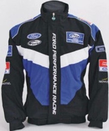 F1 MOTO GP ZIPPER JACKET FORD logo Coupe-vent F1 COAT on Sale