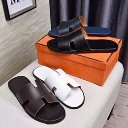 $enCountryForm.capitalKeyWord Canada - Brand men Cow leather slippers Summer Outdoor Sports Beach sandals fashion casual soft rubber wearproof Moccasins,38-46